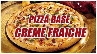 """Pizza Base """"Crème"""""""